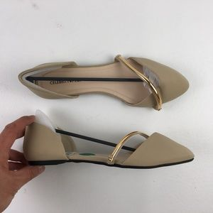 Celebrity Pink Womens Pointed-Toe Flats DR02644